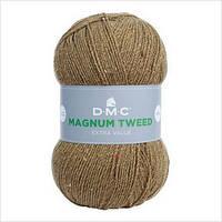 Пряжа MAGNUM TWEED DMC,цвет зеленый болотный