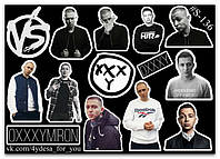 Stickers Pack Oxxxymiron, Оксимирон #136, фото 1