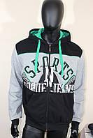 Спортивная мужская кофта тёплая , фото 1