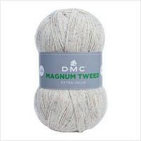 Пряжа MAGNUM TWEED DMC,цвет белый