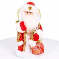 Прекрасный Мягкий Рождество Санта-Клаус Плюшевые Игрушки-11.8 Дюймов Красный