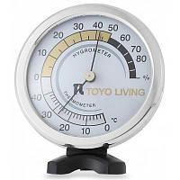 TH123 2 в 1 Измеритель температуры и влажности Белый