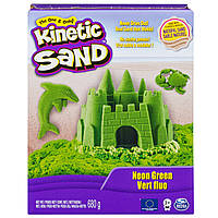 Песок для детского творчества KINETIC SAND COLOR зеленый680 г(71409G)