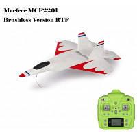Наименование Ф-22 Ф22 MCF2201 Бесколлекторный 2.4 ГГц 6-канальный 6 оси гироскопа 222 мм размах крыла самолета rtf Версия Белый