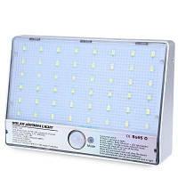 48 Светодиодов Солнечных Батареях Датчик Движения Света Серебристый