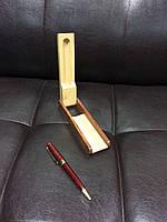 Ручка из дерева в подарочном футляре D103