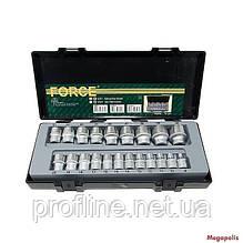 Набор головок  21 ед Force 4212-9 F
