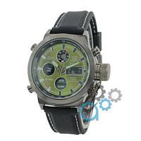 Часы мужские AMST Black-Green Black Wristband