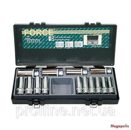 Набор головок длинных 14 ед  Force 4143 F, фото 2