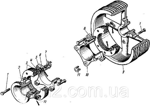 Привод компрессора ТЭМ2.40.20.001