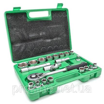 Набор инструмента 21 ед. INTERTOOL ET-6021SP, фото 2