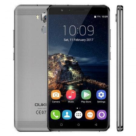 "Смартфон Oukitel U16 Max 3/32Gb Gray, 13/5Мп, 8 ядер, 2sim, экран 6"" IPS, 4000mAh, GPS, 4G, Android 7.0"