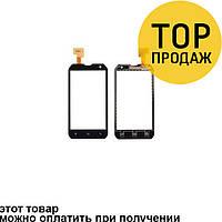 Сенсорный экран для мобильного телефона Caterpillar B15/B15Q, черный