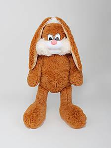 Мягкая игрушка - Зайчик Несквик 50 см (+25 см уши) коричневый