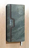 Портмоне, кошелёк мужской Baellerry Джинс, модель 1, цв. серый, фото 1