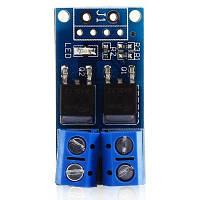 Двойной импульсный MOS / PWM модуль управления с тумблером Синий