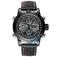 Часы мужские AMST 3022 All Black Fluted Wristband