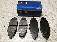 Тормозные колодки Daewoo Lanos HI-Q (Корея) SP1086, Lanos, Sens, Nexia, Matiz, передние R-13 1337