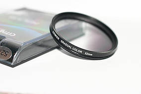 Градієнтний світлофільтр CITIWIDE 52 мм - сірий (grey)