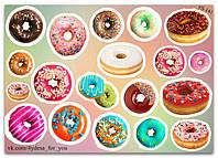 Stickers Pack Пончики #141, фото 1