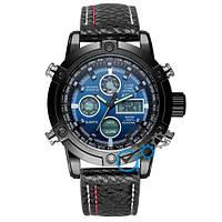 Часы мужские AMST 3022 Black-Blue Fluted Wristband