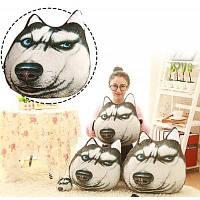 Подушка с формой смешных имитационных животных подушка сиденья для дивана кресла кровати ортопедические подушки Хаски 02