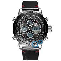 Часы мужские AMST 3022 Silver-Black Smooth Wristband