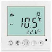 ТС-С16 ЖК-дисплей Термостат Белый