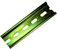 DIN-рейка длина 4cm оцинкованная, толщина 1mm