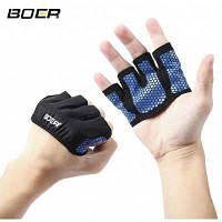 BOER Парные перчатки ладони для йоги M