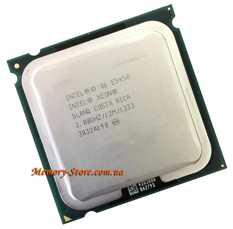Процессор Intel Xeon E5450 4-ядра 3 0GHz SLANQ С0 для LGA775 + термопаста  GD900