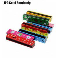 Симпатичная электронная гармоника обучающая игрушка для детей Цветной