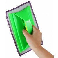Многофункциональный ручной очиститель оконного стекла очищающая швабра для мойка окон Зелёный