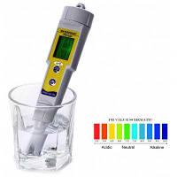 PH-618 2 в 1 pH-тест-ручке / термометре Серый