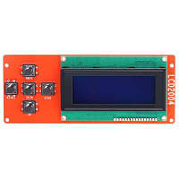 Anet LCD2004 ЖК-дисплей синий экранный контроллер Красный