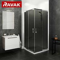 Душевая кабина Ravak Blix  BLRV2-80 grafit / профиль хром