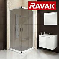 Душевая кабина Ravak Blix  BLRV2-80 grafit / белый профиль