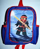 Детский школьный рюкзак для мальчиков Ниндзя 22*27