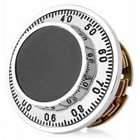 977-1 кодовый замок шкалы 3 диска для безопасного коробочки для ювелирных изделий Серебристый