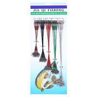 100шт рыболовные приманки линии трассировки лидер провода Цветной