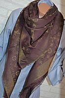 Платок с люрексом в стиле Louis Vuitton Monogram (Луи Витон) калифорния