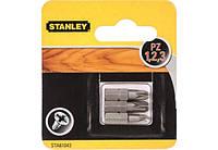 Биты Stanley Pz1, Pz2, Pz3, 25мм, 3шт