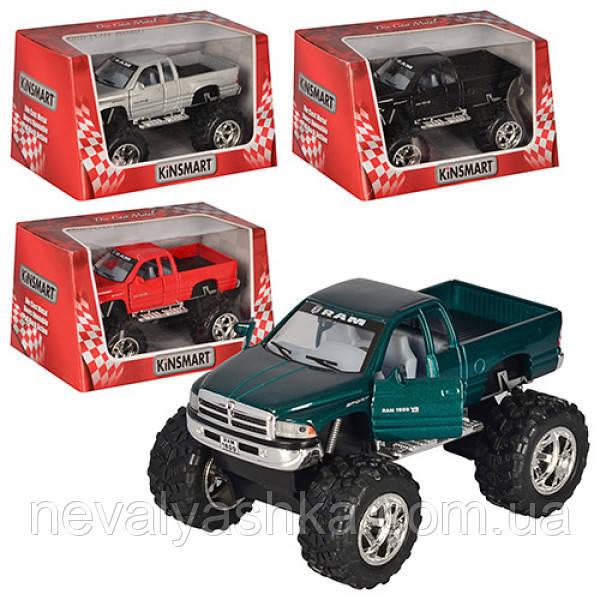 Kinsmart металлическая инерционная машинка Джип Dodge Ram off road Кинсмарт KT5338W 002364