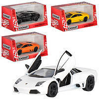 Kinsmart металлическая инерционная машинка Lamborghini Murcielago LP640 Кинсмарт KT5317W 006228