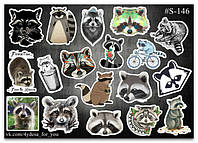 Stickers Pack Енотики #146, фото 1