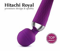 Вибратор для клитора Hitachi Royal вибромассажер с аккумулятором на подарок, фото 2