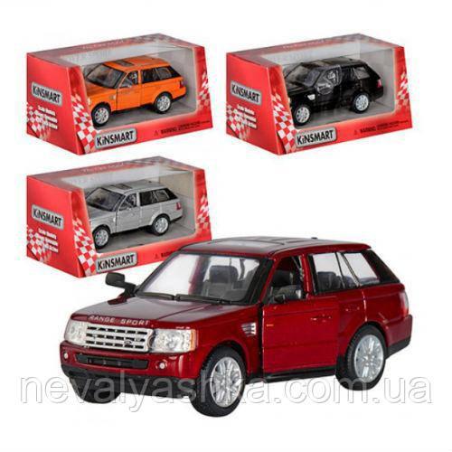 Kinsmart металлическая инерционная машинка Range Rover Sport Кинсмарт KT5312W 002361