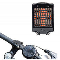 LEADBIKE A112 Велосипедный фонарь указателя поворота Чёрный