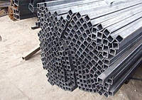 Труба алюмінієва ф50х50, 55х55, 60х60мм.