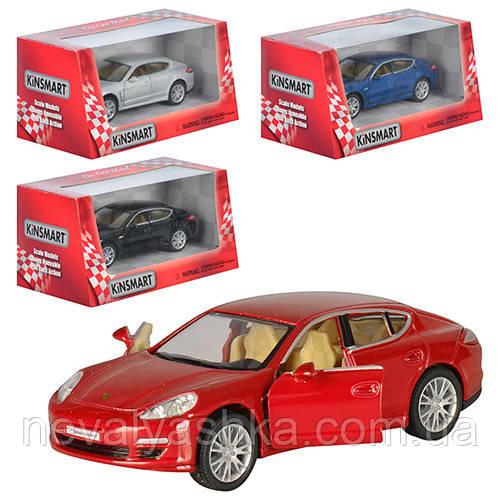 Kinsmart металлическая инерционная машинка Porsche Panamera Кинсмарт KT5347W 002985
